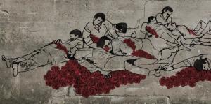 KASHMIR massacre by Mir Suhail