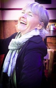 Mary Scully laughing Buddha
