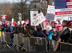 NYC Women's March 2018 (AP:Craig Ruttle) Jan 21 2018