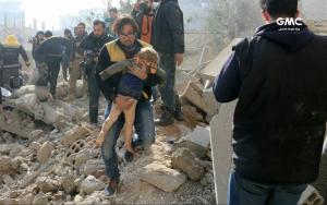 Rescuing in Eastern Ghouta Jan 20 2018