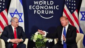 Trump & Netanyahu at Davos 2018