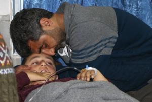 Afrin Syria Feb 22 (Ahmad Shafie Bilal:AFP:Getty Images) Feb 22 2018
