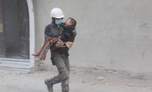Arbin City in Ghouta (White Helmets) Feb 21 2018