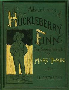 Cover of Huckleberry Finn