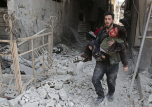 Eastern Ghouta (Abdulmonam Eassa:AFP:Getty Images) Feb 21 2018 posted Feb 27 2018