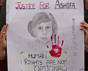 Justice for Asifa protest in Srinagar Feb 22 2018 (Faisal Khan) Feb 22 2018