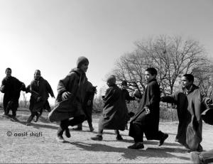 Kashmiri kids playing Kabadi  (Aasif Shafi) Feb 5, 2018