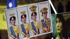 ASEAN 2018 protest vs. Suu Kyi (2) (AFP) Mar 20 2018