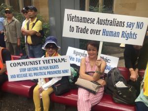 ASEAN summit 2018 Vietnamese protest Mar 20 2018