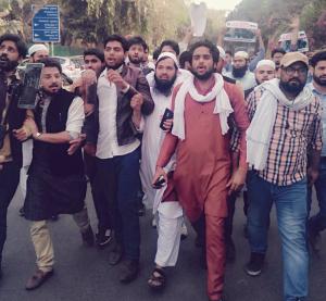 Delhi protests for E. Ghouta Mar 3 2018