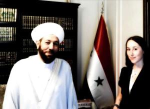 Eva Bartlett & Mufti Ahmad Hassoun Aug 20 2017