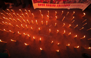 Faisal Khan فيصل خان    @lookaround81  Mar 4 More Candle-light protest in solidarity with Asifa Bano and Syrian children on March 04, 2018 in Srinagar