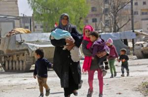 Fleeing E. Ghouta Mar 20th (Nino Fezza) Mar 20 2018