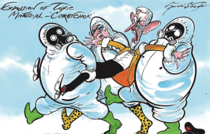 Gerald Scarfe on Corbyn's refusal to criticize Putin for poisoning March 2018