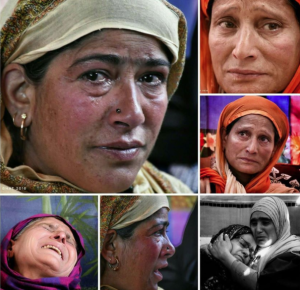 Grieving Kashmiri women (Junaid Bhat) Mar 8 2018