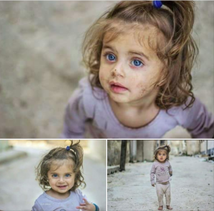 Little Syrian girl from Zafar Iqbal Mar 4 2018