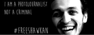 Mahmoud Abou Zeid (know as Shawkan) Egyptian photojournalist Mar 6 2018