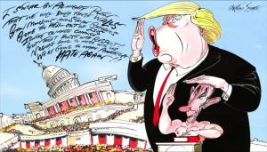 Trump & Putin by Gerald Scarfe