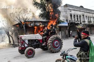 Turkish forces take control of Afrin Mar 18th (Bulent Kilic:AFP) Mar 20 2018