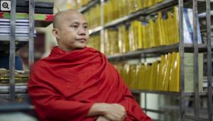 Wirathu, Burmese ltra-nationalist (AFP) Mar 1 2018