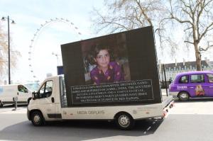 Asifa billboard in London Apr 19 2018