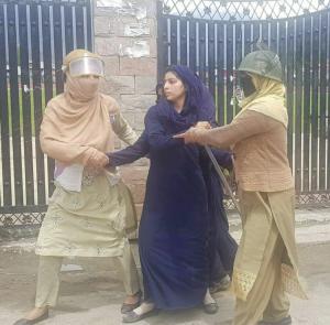 Asifa protest in Kashmir (Kulgam News Agency) Apr 19 2018