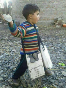 Child stone pelter Kashmir (Kashmir News Trust) Apr 2 2018