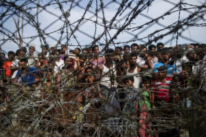 No Man's land between Burma & Bangladesh (Ye Aung Thu:AFP:Getty Images) Apr 28 2018
