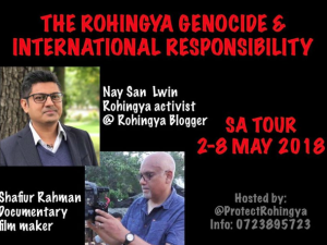 South Africa Rohingya tour Apr 4 2018
