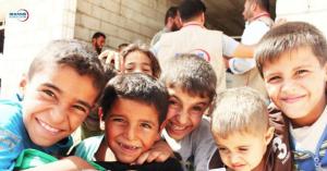 Syrian children refugees (Nino Fezza) Apr 20 2018