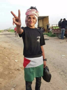 Tahrir Wahba, 17yrs, succumbs to wounds sustained during Friday protests near the fence.