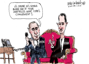 US strategy in Syria Apr 10 2018