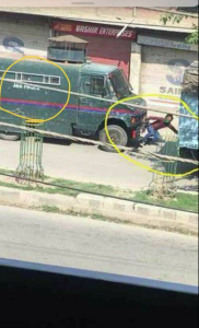 Adil Ahmed being hit by armored vehicle May 5 2018