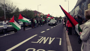 Belfast stands with Palestine (Harry Bradley) May 15 2018