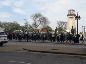 Chicago stands with Palestine (Vinod Moonesinghe) May 16 2018