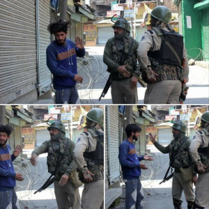 Everyday aggressions in Kashmir May 2 2018