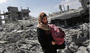 Gaza July 2014 (Lefteris Pitarakis:AP) May 13 2018