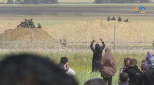 Gaza fence May 17 2018
