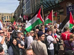 Glasgow stands with Palestine (Shehab News) May 19 2018