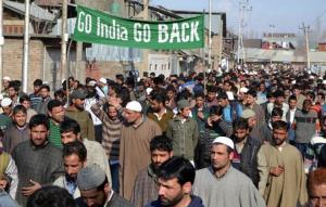 Go India Go Back placard (Go India Go Back on FB) May 6 2018