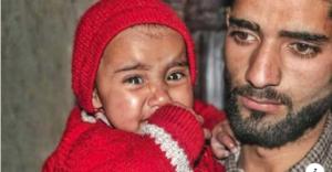 Ishfaq Ahmad Wani & his baby May 16 2018