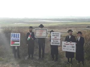 Jewish anti-Zionist activists from Neturei Karta community (Twitter) May 12 2018