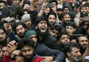 Kashmir grieving (Basit Zargar) May 8 2018