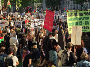 London stands with Palestine (Days of Palestine on Twitter) May 15 2018