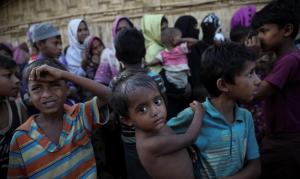 Rohingya at Cox's Bazar (Marko Djurica:Reuters) May 23 2018