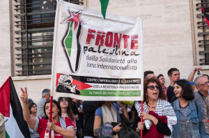 Rome stands with Palestinians (Shehab News) May 23 2018