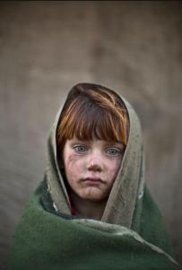 Six-year-old Laiba Hazrat. :Muhammed Muheisen