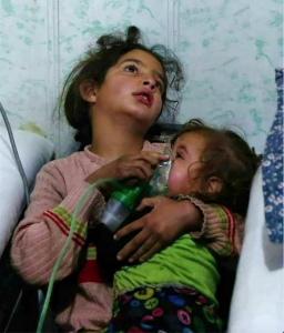 Syrian girl- she died while saving her sister #Ghouta (Mohamad Albadawi) February 2018