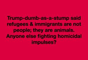 Trump dumb as a stump meme May 17 2018