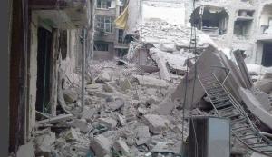 Yarmouk refugee camp May 16 2018
